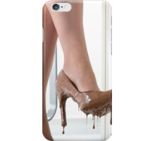 Chocolate Shoes iPhone Case/Skin