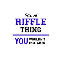It's a RIFFLE thing, you wouldn't understand !! by thestarmaker