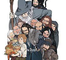 The Hobbit by TheGaraudi