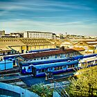 Blue Sky On The Gare by Ayush Bhandari
