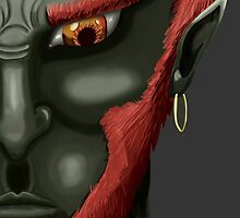 Ganondorf by Dean Frazer