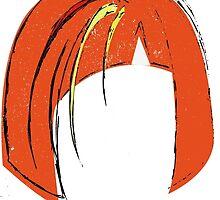 H.N.W orange by zearabocala
