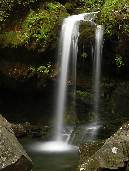 Grotto Falls by Kevin Price