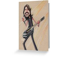 Mr. Grohl Greeting Card