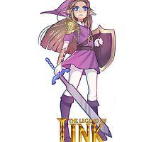 Female Link Purple by Damon389489