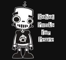 Robot Punks for Peace T-Shirt