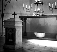 The Altar at the Chapel by Roberts Birze