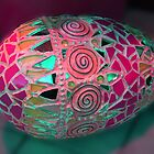 colored eggs by Nancy