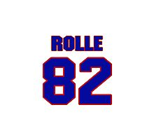 National football player Butch Rolle jersey 82 Photographic Print
