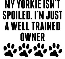 Well Trained Yorkie Owner by kwg2200