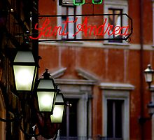 roman alley restaurant - rome by Kane Horwill