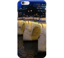 Pont Neuf Bridge - Paris, France iPhone Case/Skin