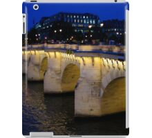 Pont Neuf Bridge - Paris, France iPad Case/Skin