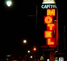 Capitol Motel - Salt Lake City, Utah by Ryan Houston