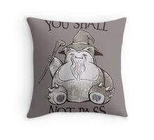 You Shall Not Pass Throw Pillow