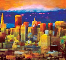 """""""Golden City"""" by Nobhill"""