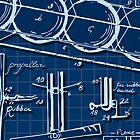 Kids Plane Project on Blueprint by aurielaki