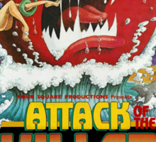 Attack Of The Killer Tomatoes Sticker