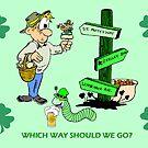Confused Irish Man by kabsannie