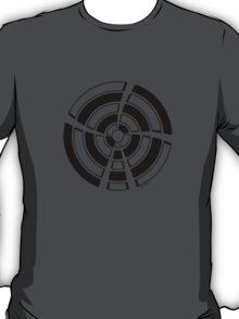 Mandala 25 Back In Black T-Shirt