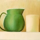 Green Pitcher by Elohim Sanchez