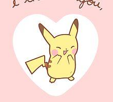 Pikachu Valentine by Steph Hodges