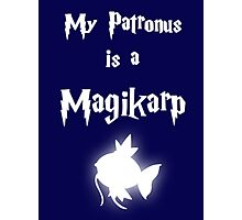 My Patronus Is A Magikarp Photographic Print