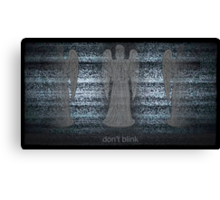 Weeping Angels and Static Canvas Print
