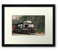 right time right place Framed Print