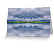 Parallel Storm Greeting Card