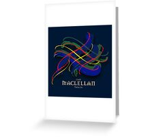 MacLellan Tartan Twist Greeting Card
