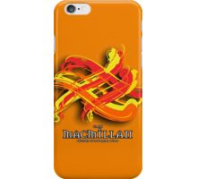 MacMillan Tartan Twist iPhone Case/Skin