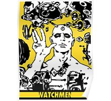 Dr. Manhattan Yellow Poster