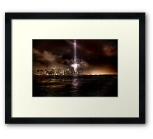 911 Waterfront Framed Print