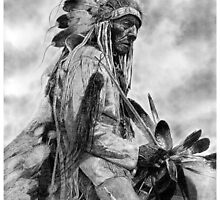 """THE OLD CHEYENNE"" by Denny Karchner"