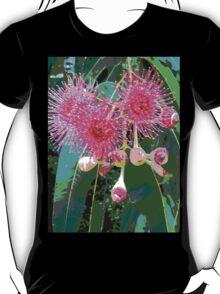 Pink flowering gum blossom T-Shirt
