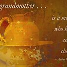 """""""A Grandmother . . ."""" card by Rosalie Dale"""