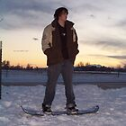Snowboarder Sunset by heathernicole00