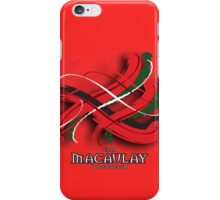 MacAulay Tartan Twist iPhone Case/Skin