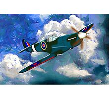 Supermarine Spitfire WWII - all products Photographic Print
