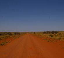 GREAT CENTRAL HIGHWAY , NORTHERN TERRITORY by boydcarmody