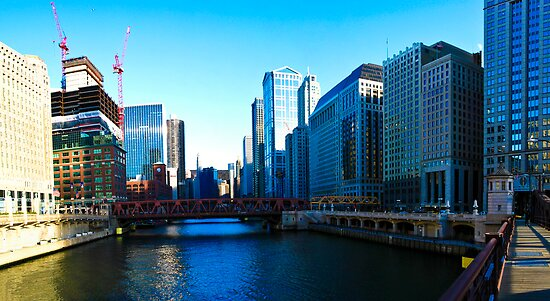 Chicago River by Paul Ryan