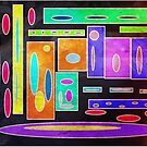 bright colourful shape in the light  by StuartBoyd
