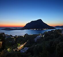 Kalymnos - Telendos after sunset by Hercules Milas