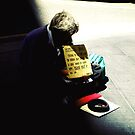 Homeless and Broke. by Vee T