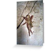 Angel Of Pompeii Greeting Card