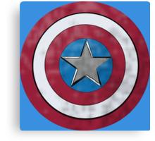 Captain America Shield Canvas Print