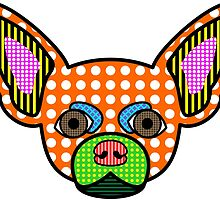 Chihuahua Pop Art by pounddesigns