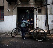 Shanghai Street Kids by Daniel Chanisheff