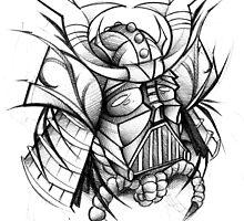 Samurai Vader by Jeremy Harburn